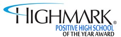 Highmark Positive HS of the Year Award