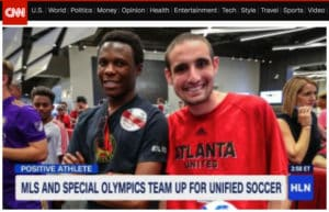 MLS and Special Olympics team up